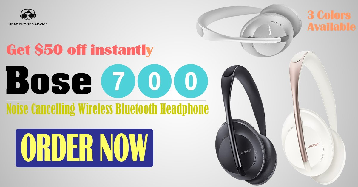 Bose 700 Noise Cancelling Wireless Bluetooth Headphone - Reviews by Headphones Advice