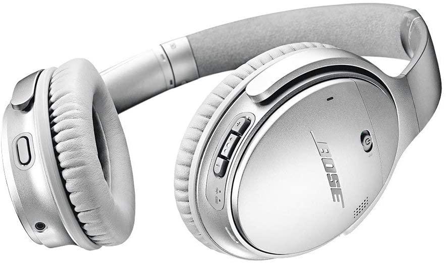Bose QuietComfort 35 Headphones Review silver