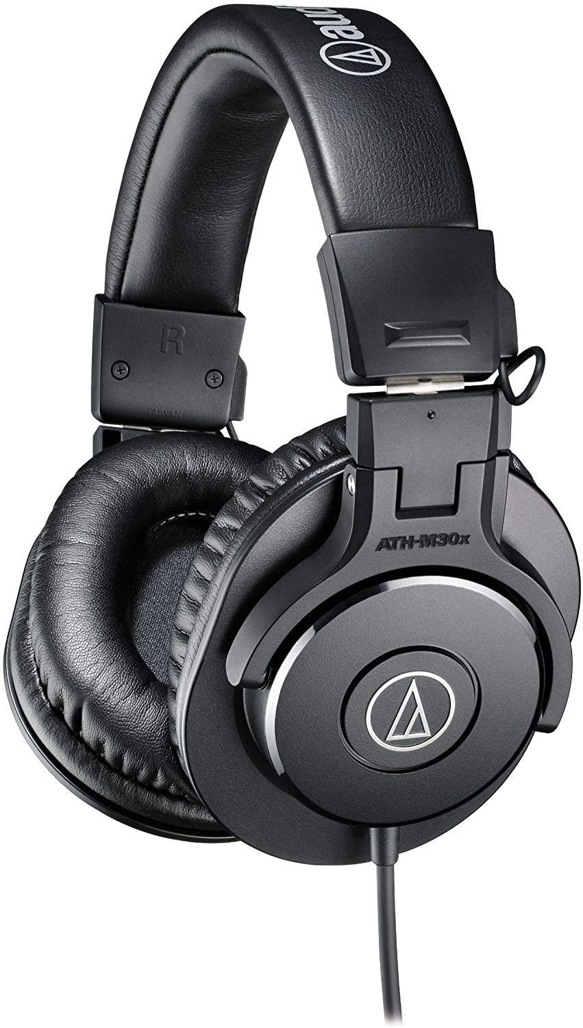 23. Audio-Technica ATH-M30x Professional Studio Monitor Headphones (Wired) at Amazon