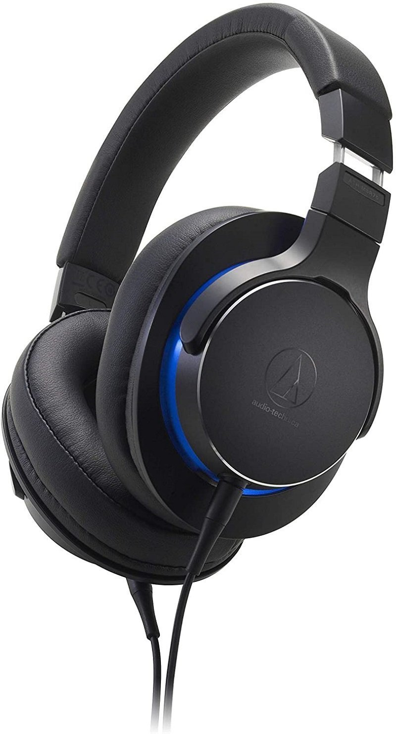 Best Bass Headphones for Wired Audio-Technica ATH-MSR7bBK Review