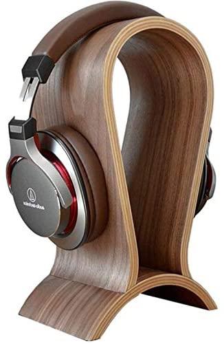 Alikeke Classic Wooden Headphone Stand