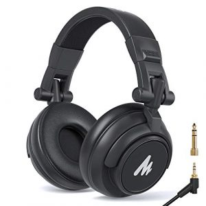 -MAONO-AU-MH601-Over-Ear-Stereo-Monitor-Closed-Back-Headphones-for-Music-DJ-Podcast