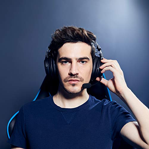 Audio Technica ATH G1WL Premium Wireless Gaming Headset for Laptops PCs Macs 24GHz 71 Surround Sound Mode USB Type A Black Adjustable 0 5