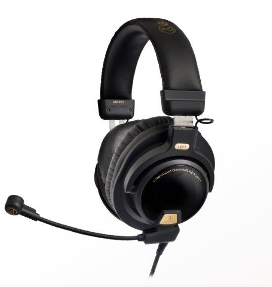 Audio-Technica ATH-PG1 Closed-Back Premium Gaming Headset