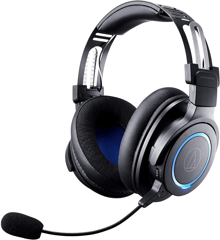 Audio-Technica ATH-G1WL Premium Wireless Gaming Headset for Laptops, PCs, & Macs