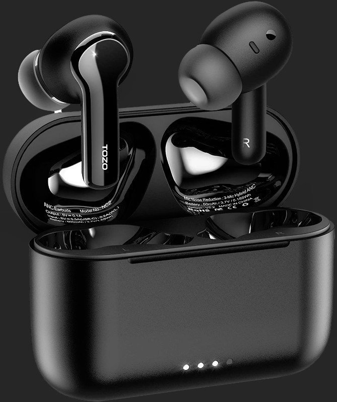 TOZO NC2: Premium Deep Bass Wireless Earbuds