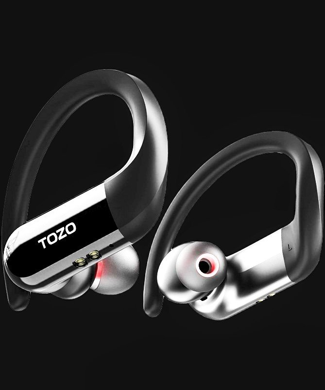 TOZO T5: True Wireless Earbuds for Running, Gym, Workout