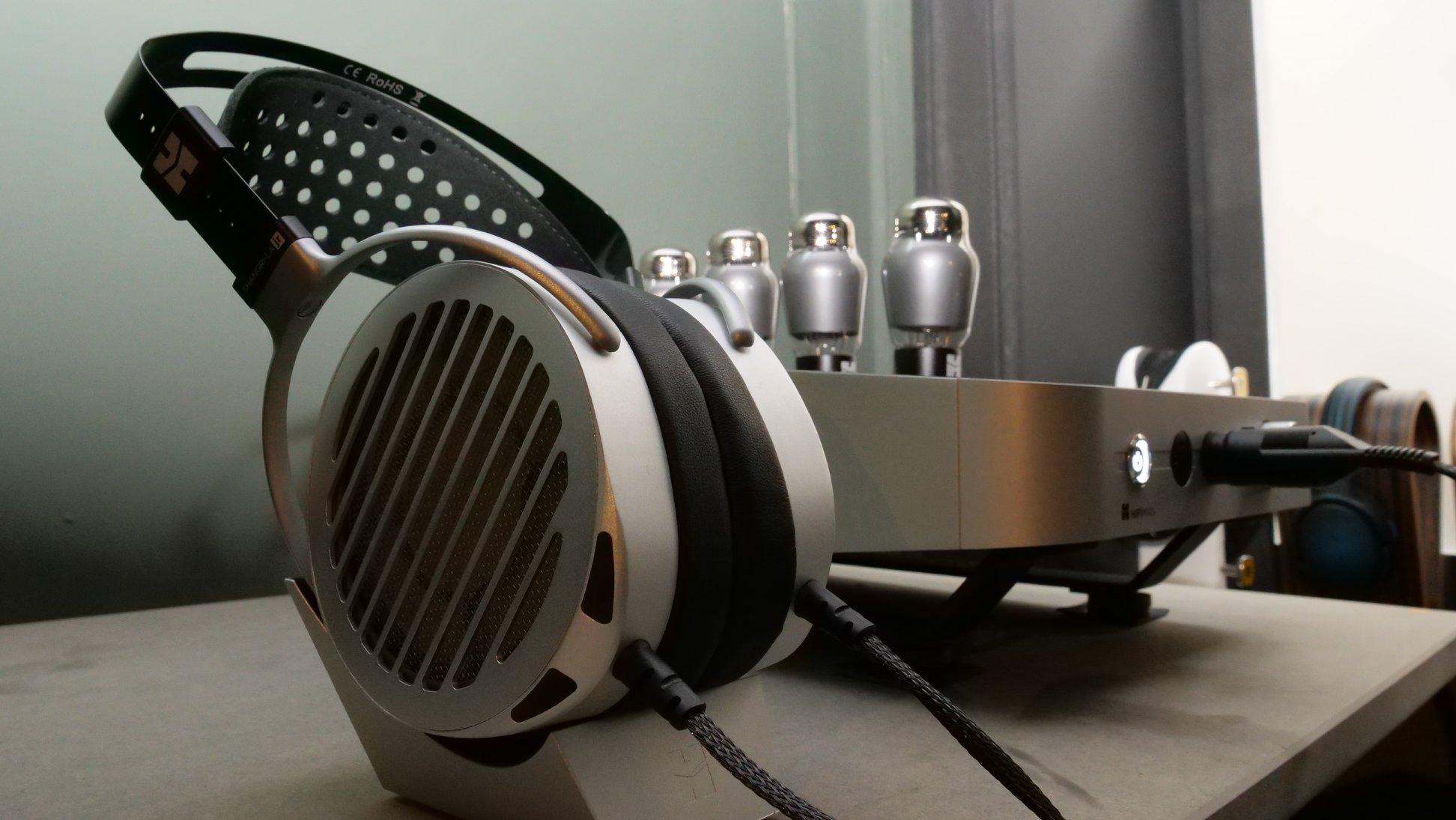 HiFiMan SHANGRI-LA jr electrostatic headphones with amp