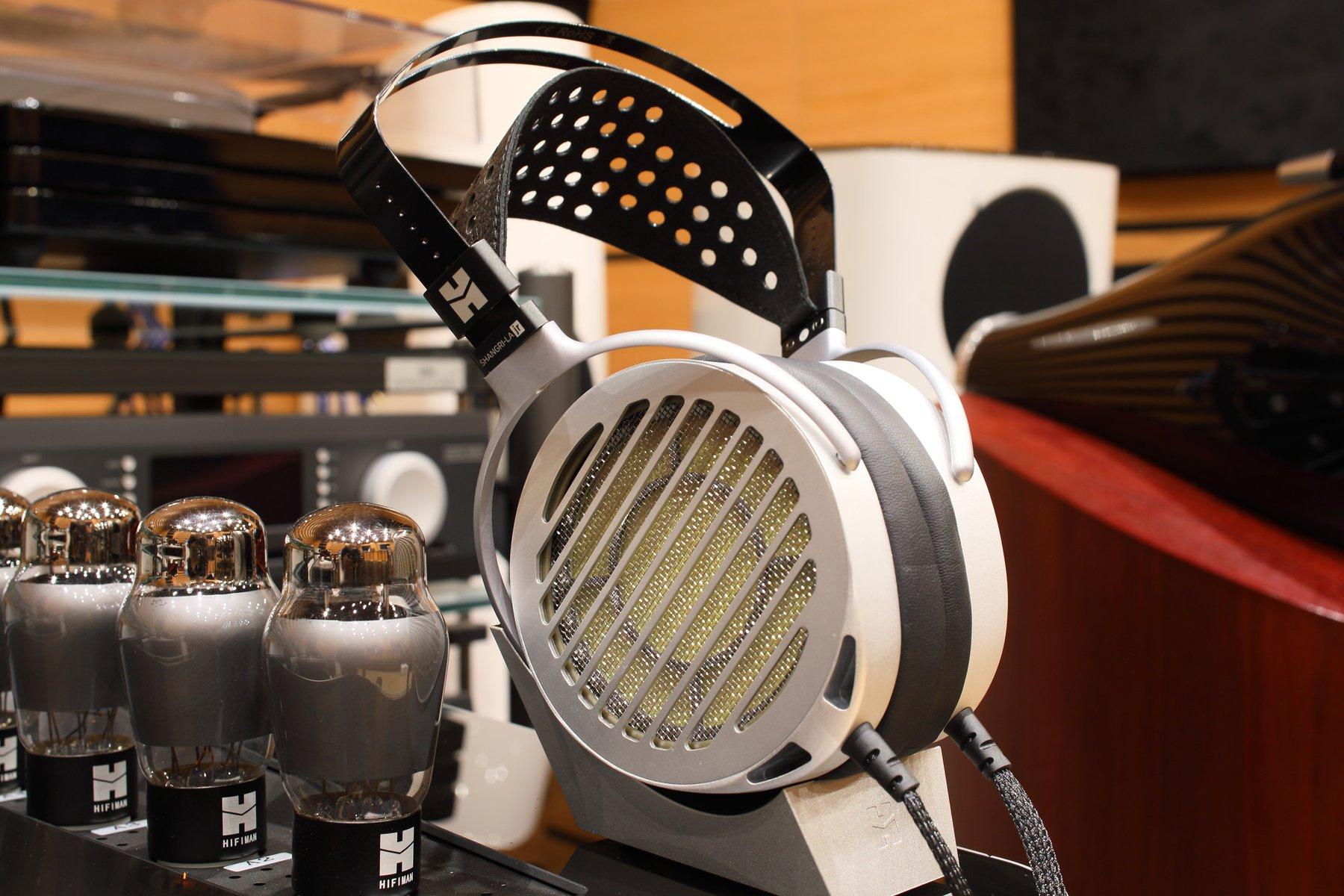 HiFiMan SHANGRI-LA jr electrostatic headphones review with tube amp