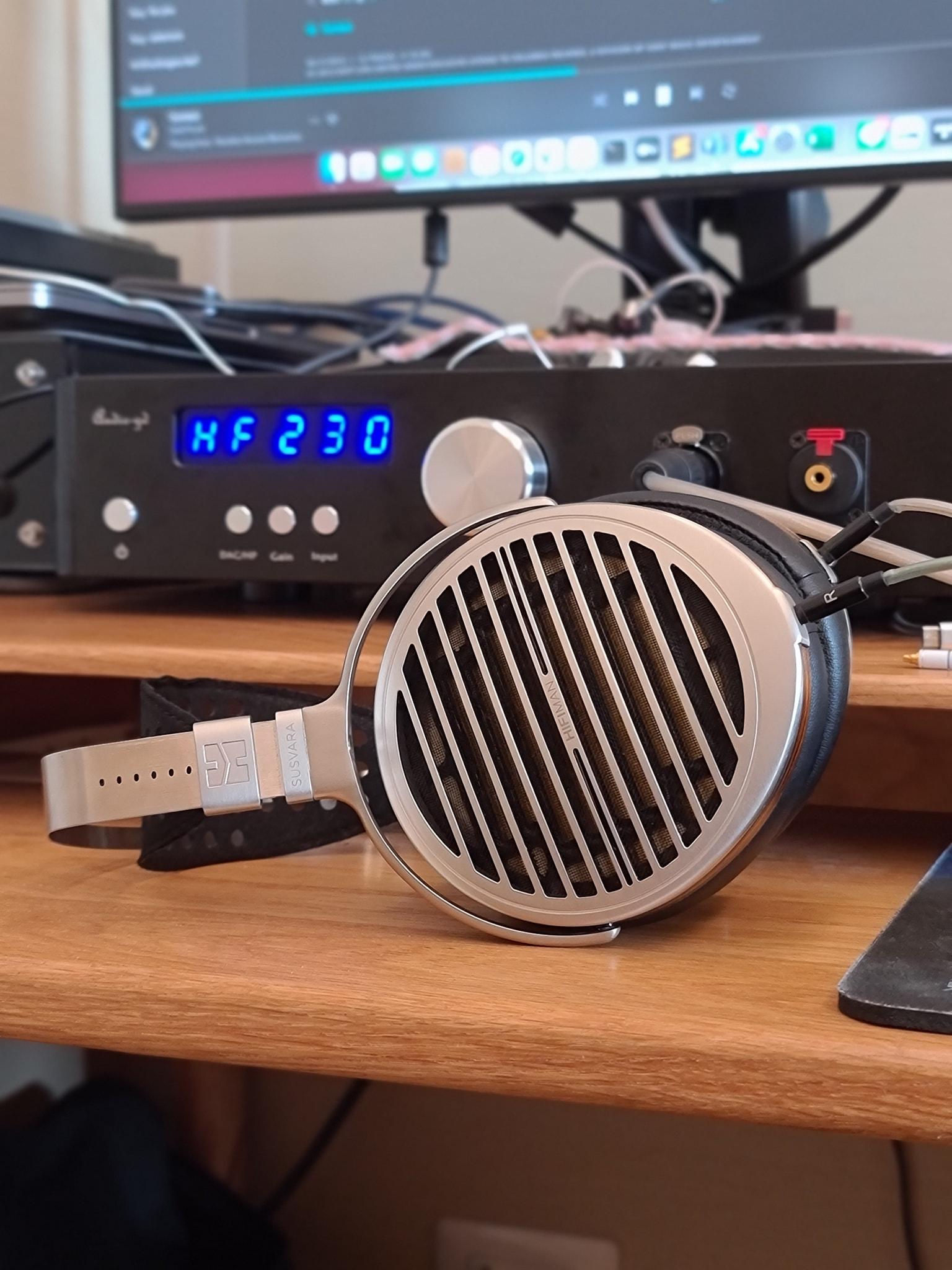 Susvara + amp setup