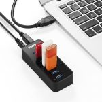7 ports USB Hub for Zoom video conferencing