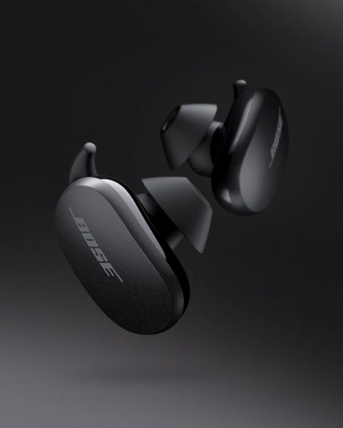 Bose QuietComfort True Wireless Noise Cancelling Earbuds