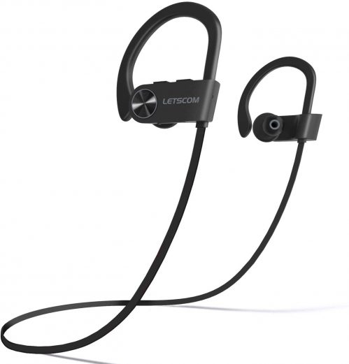 LETSCOM IPX7 Sports Earbuds