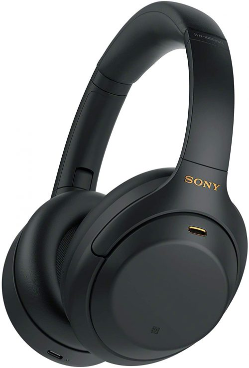 Sony WH1000XM4 Over-Ear Noise Canceling Wireless Bluetooth Headphones